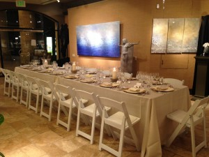 Formal Table Setting - Belle Fete Catering Orange County & Los Angeles